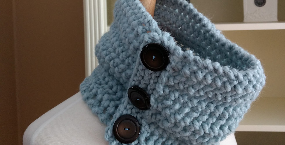 Winter Lace Cowl