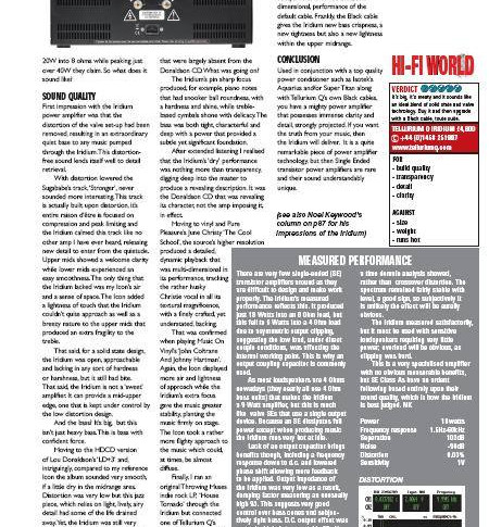 TQ review, Colin Wonfor