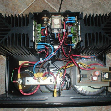 ID power amplifier internals