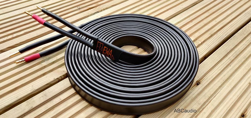 EWA LS-25 loudspeaker cable, by Colin Wonfor. Tellurium Q
