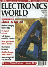 class A how to article in electronics world - by Colin Wonfor
