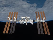 NASA and ISS - power systems by CJ Wonfor