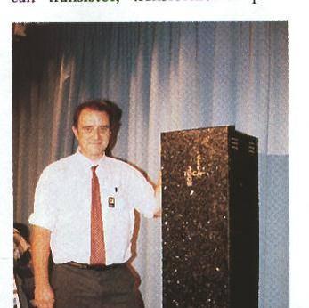 SECA 300W, largest class A amplifier. Colin Wonfor