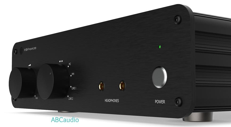 ABCaudio shop: EWA M-50-P Pre amplifier front 1