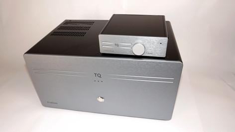 Tellurium Q Listen and Iridium 20 amplifiers