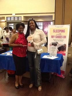 L.J. and Dr. Sandra of Vibrant Vibrant Talk Show