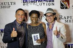 Kevin Harrington, LJ, and Mel