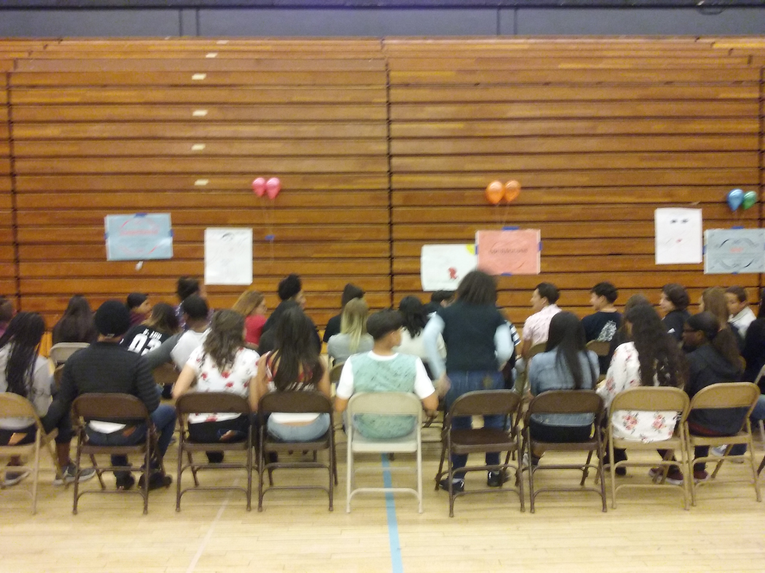 L.J. Facilitates Synergy Day