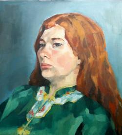 Cordelia in Green