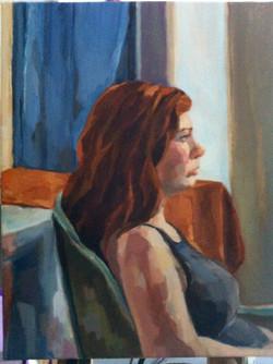 Cordelia Looking at the Window