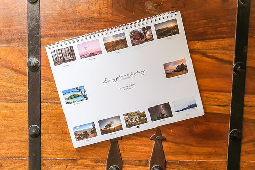 2020 Calendar - Landscapes