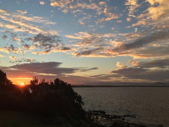 Sundown over Culburra beach