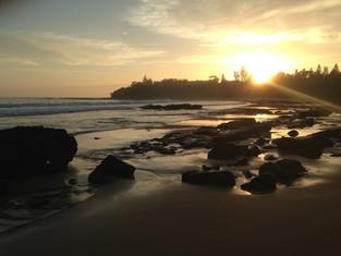 Dawn at Tilbury Cove
