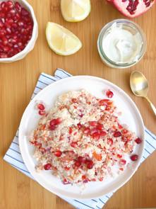 Salade froide de couscous de chou-fleur
