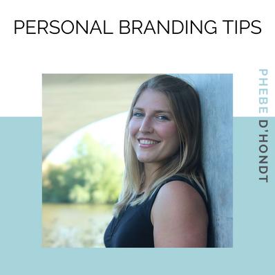 5 tips voor personal branding - #7