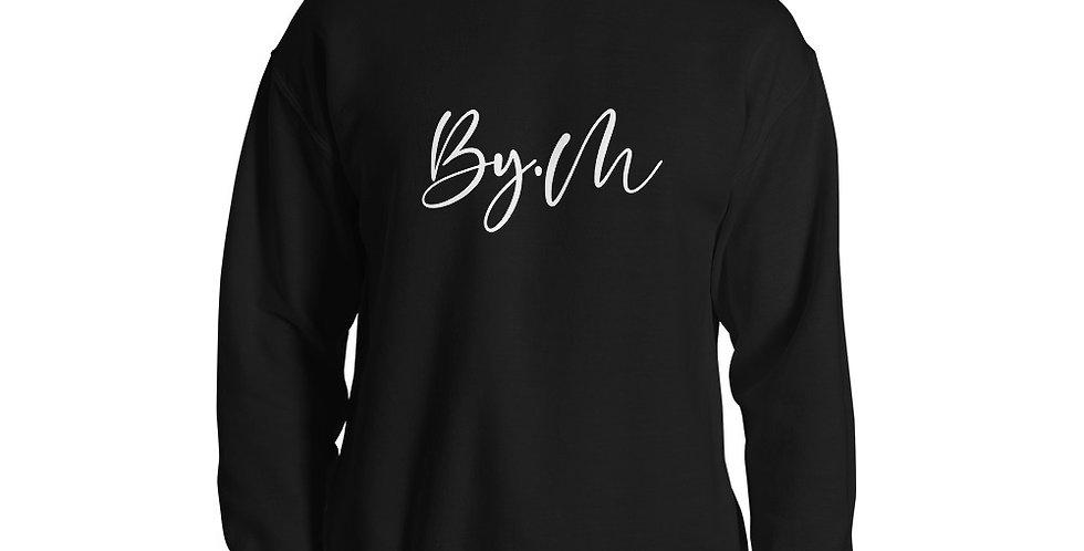 Black sweater BY.M script