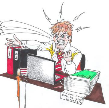 The perils of online training - a negative self-talk diatribe by Steven Talbot