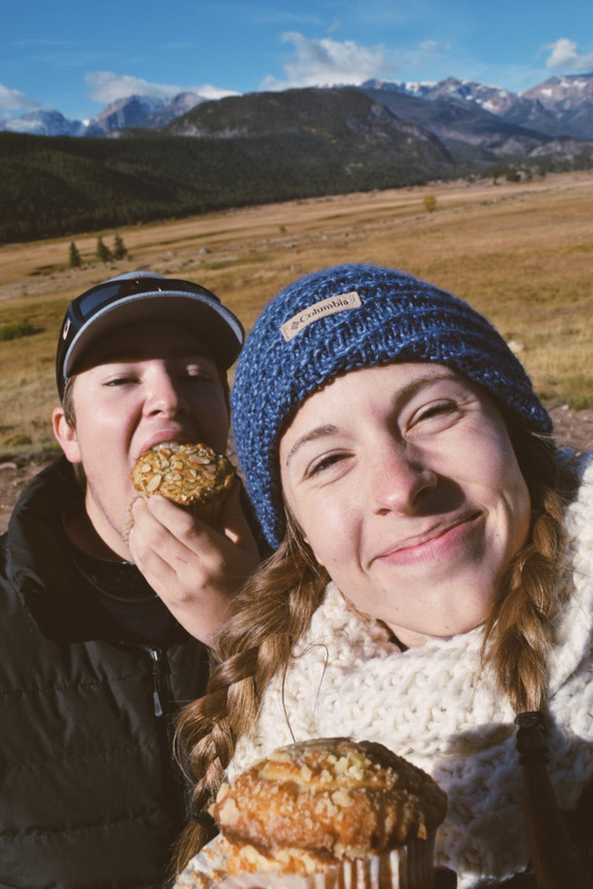 stop and eat your muffin
