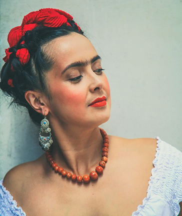 Rebecca Grant as Frida Kahlo