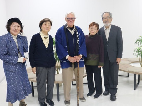 Memoirist Dick Jorgensen Rekindles Old Friendships in Trip to Japan