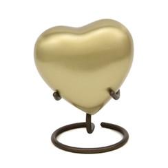 Keepsake Heart Grecian Bronze