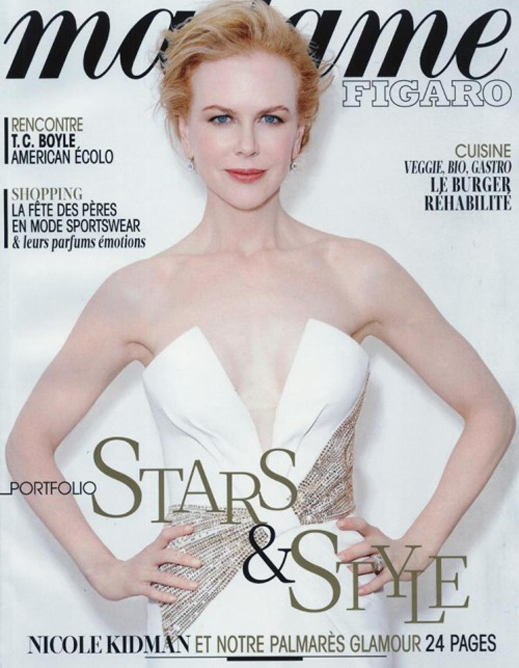Madame Figaro Nicole Kidman