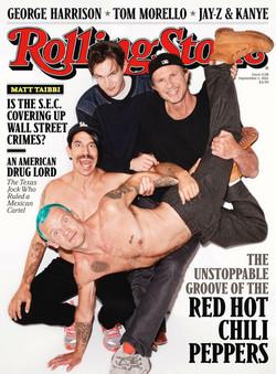 RHCP Rolling Stone