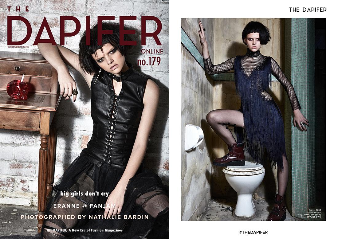 Model Eranne by Photographer Nathalie Bardin Fashion Editorial - The Dapifer