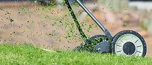 芝刈り機のセットアップ