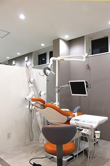 守口市のなかむら歯科医院 診療室