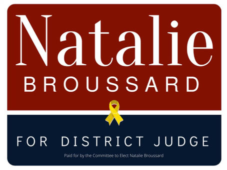 Natalie Broussard's Statement on Qualifying for the Election