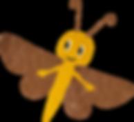 Motte ist der heimliche Held der Abenteuer und Geschichten von YoYo und Motte.