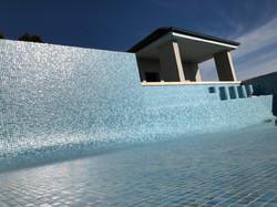 Sydney fully tiled swimming pool mosaic tiler specialist