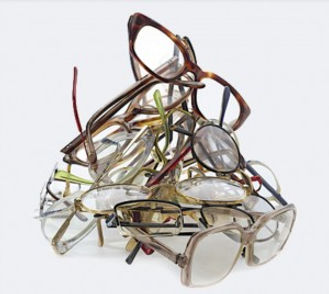 A picture of eyeglasses