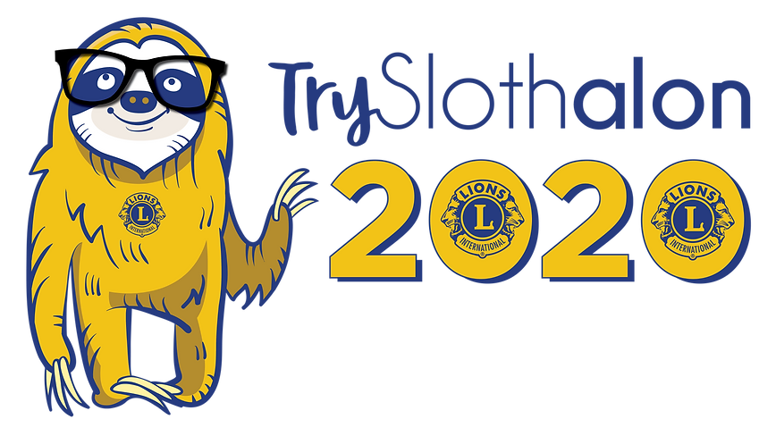 Try sloth alon 2020, Saturday August 29th from 10 Am til Noon in Downtown Minot