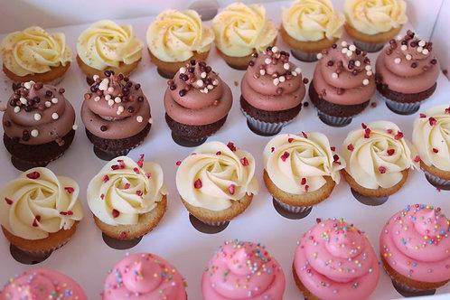 Mixed Canape Cupcake Selection
