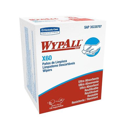 Wypall X60 Quarterfold 12x100
