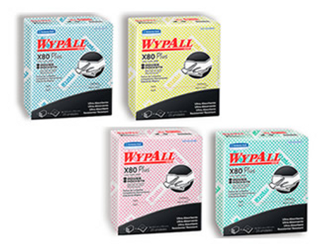 Wypall X80 colores 30 Unidades