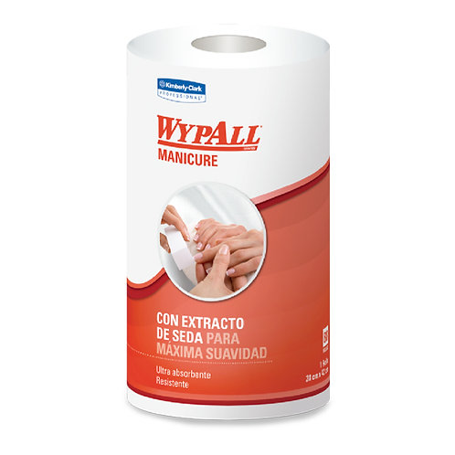 Wypall Manicure Rollo 6x88 Hojas