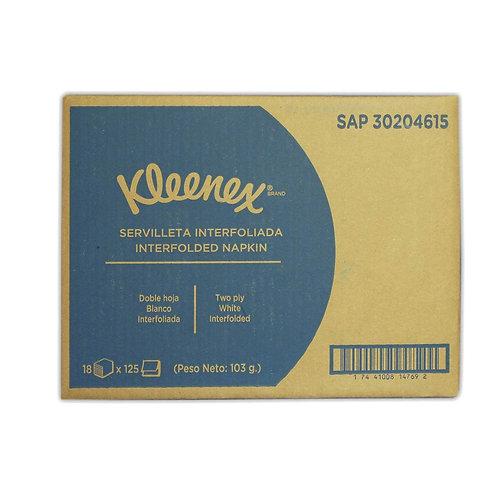 Servilletas Kleenex Pop-up 18x125unidades