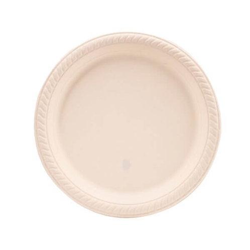 Caja Platos Espuma Biodegradable 25/20