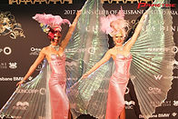 Class Act Creative, masquerade, glamorous hostesses, red carpet, pink, showgirls, pink costumes, illuminated, roving entertainment, dancers, event entertainment, Primetime Marketing, Lions Charity Gala, UA Lions, showgirls,roving entertainment, Gold Coast events, entertainment agency Gold Coast, dancers, stage shows, dance shows, character performers, entertainers Gold Coast, entertainers Brisbane