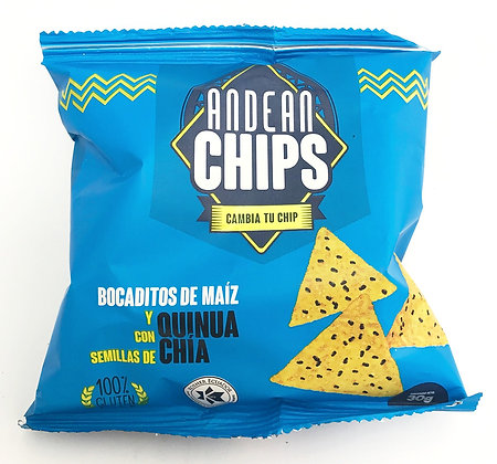 Andean Chips Chia 30 g