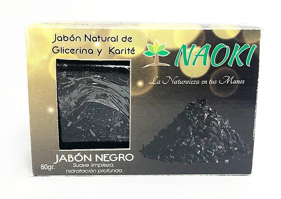 Jabón en Barra Negro 80 g NAOKI