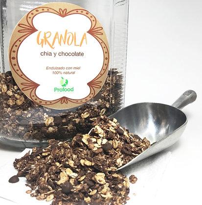 Granola Chia Chocolate al GRANEL Profood 100gr.