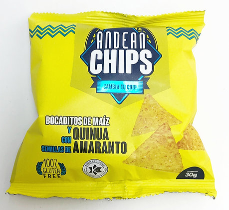 Andean Chips Amaranto 30 g