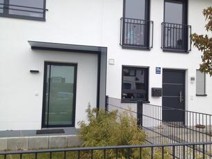 Plan Vento Vordach und Glasarbeiten Pantherglas