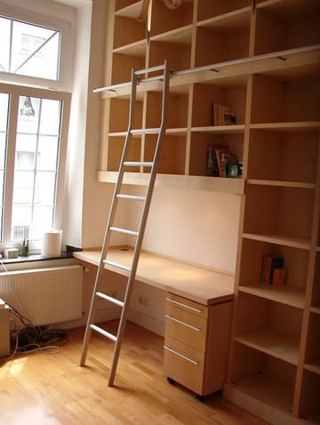 Holzschrank für Bücher, Akten etc von Hoppen Innenausbau