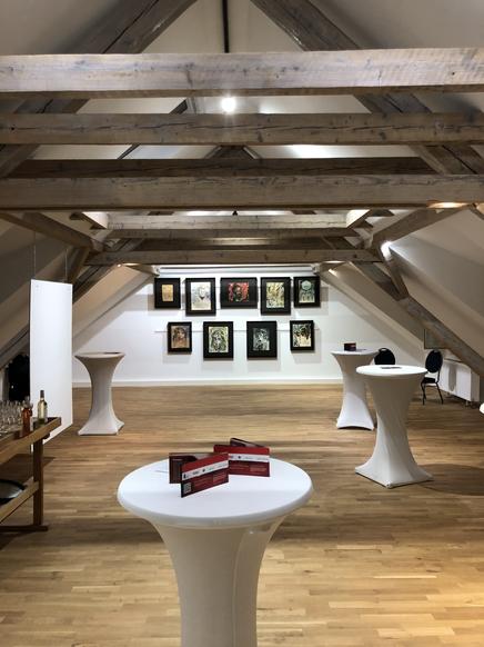 Arbeiten für eine Kunstgalerie Hoppen Innnenausbau
