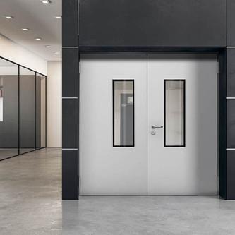 Hoppen Innenaushau bietet Ihnen Verglaste Feuerschutztüren von Teckentrup